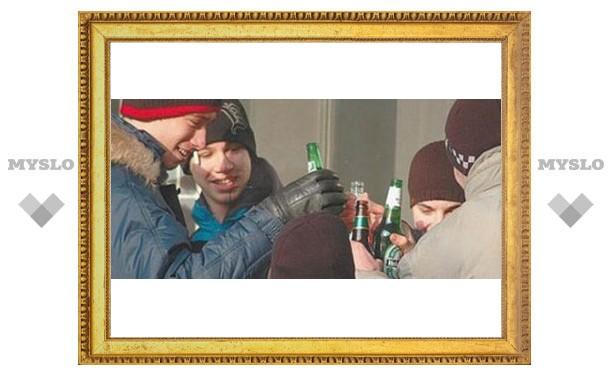 В Туле продают пиво подросткам