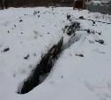 В Болохово подрядчик ремонтирует водопровод уже полгода