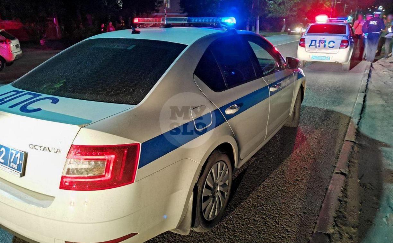 На ул. Кутузова в Туле Škoda сбила пешехода