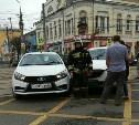 В центре Тулы на «вафельнице» произошло ДТП