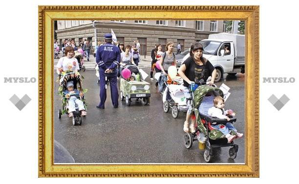 В Туле пройдет очередной парад мам и детей