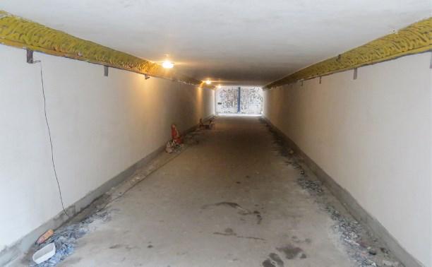 Подземные переходы на проспекте Ленина начали ремонтировать