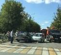 На ул. Кирова в Туле столкнулись четыре машины