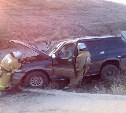 На трассе «Дон» перевернулся внедорожник, один из пассажиров погиб