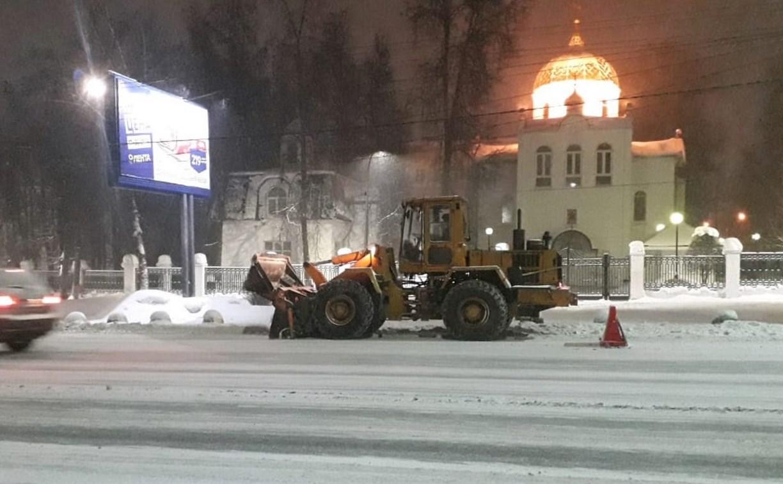 Тульские улицы от снега чистят в усиленном режиме