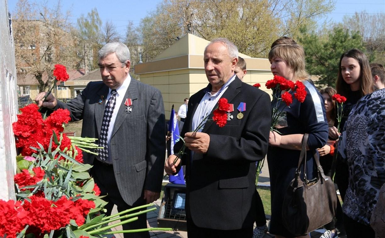 В Туле почтили память ликвидаторов аварии на Чернобыльской АЭС
