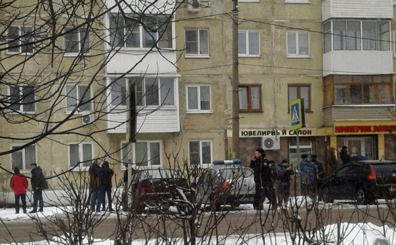 В Кимовске совершено нападение на ювелирный салон