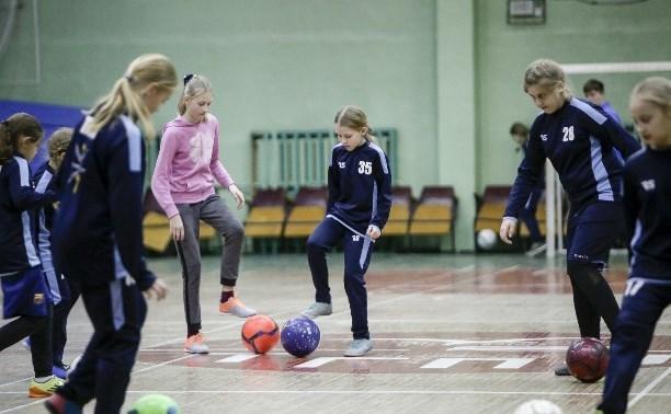 В Туле открыт набор девочек в футбольную секцию