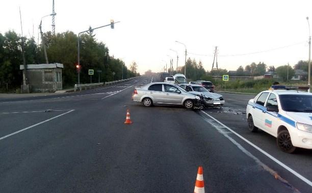 В ДТП на федеральных трассах в Тульской области пострадали несовершеннолетние