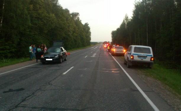 На трассе под Тулой погиб 25-летний пешеход