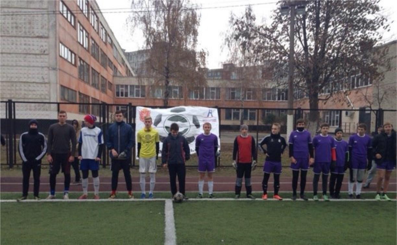 Дворовые футбольные команды на днях узнают чемпиона своей лиги