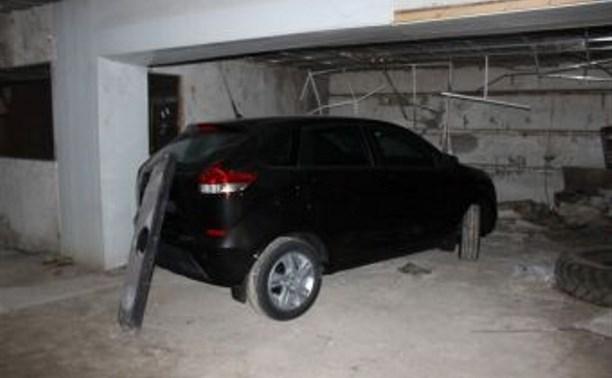 В Тульской области бомж угнал машину и уехал в Смоленск