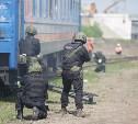 В Туле «пресекли теракт» на железной дороге: фото и видео