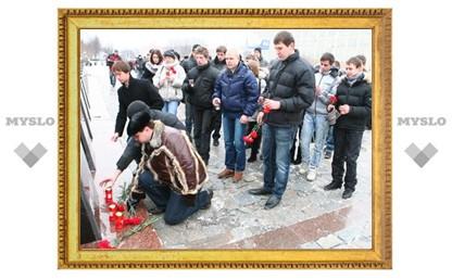В Туле прошел митинг памяти жертв теракта
