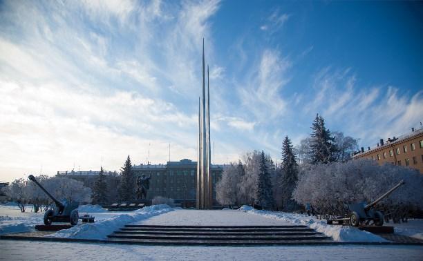 В понедельник в Туле ожидается снежная погода