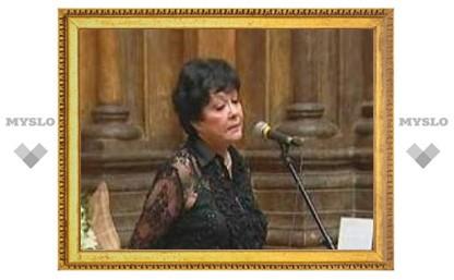 Белла Ахмадулина отмечает юбилей