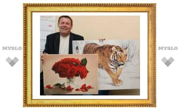 """В Тульской области открывается выставка картин """"Дыхание сердца"""""""