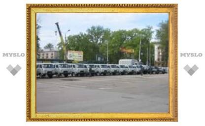 Тульской милиции подарили бронированное авто