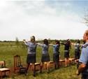 В Туле состоялись соревнования по летнему служебному двоеборью среди полицейских