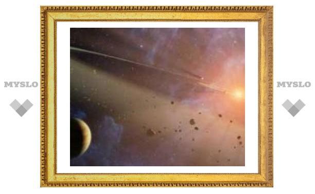 У соседней звезды нашли два пояса астероидов