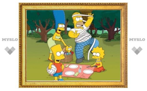 """Продюсеры """"Симпсонов"""" урезали себе зарплаты"""