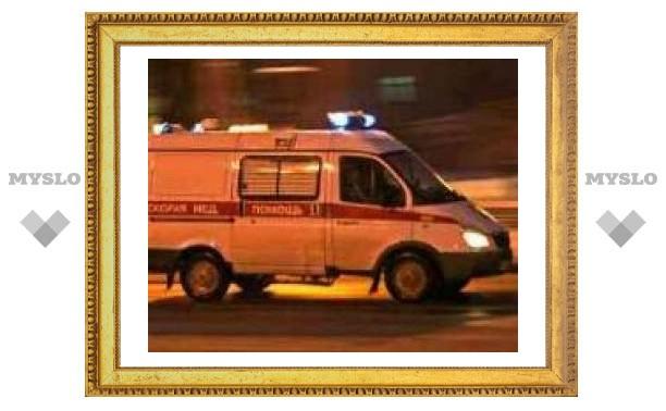 Под Тулой произошла авария с участием трех авто
