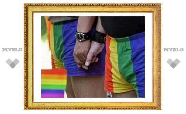 Рижский гей-парад забросали петардами