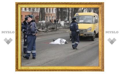Сбитая маршруткой женщина переходила дорогу в неположенном месте