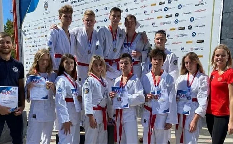 Спортсмены из Тульской области успешно выступили на турнире по рукопашному бою