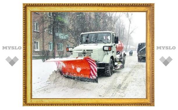 Новая снегоуборочная техника выйдет на улицы Тулы