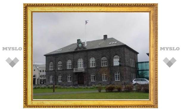Исландия подала заявку на вступление в Евросоюз