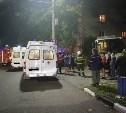 В Туле в жилой дом врезался троллейбус: фото