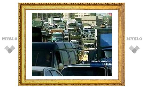 Мэрия: до полной остановки движения в Москве осталось 4 года, когда в столице будет 4,5 млн машин