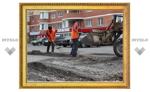 «Слобода» заставила дорожников отремонтировать ямы