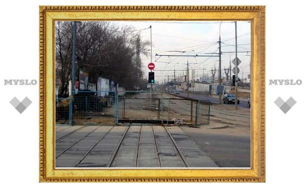 На Красном Перекопе трамваев не будет еще месяц