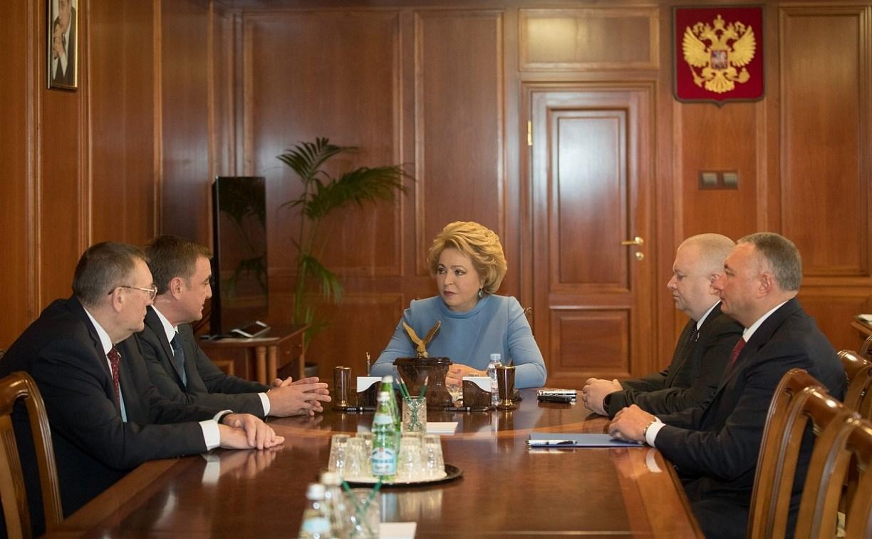 Алексей Дюмин о поддержке сената: «Такая поддержка для нас важна и ценна»
