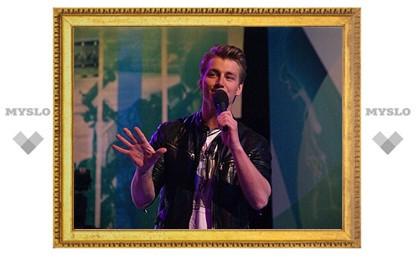 Алексей Воробьев только что спел в финале «Евровидения-2011»