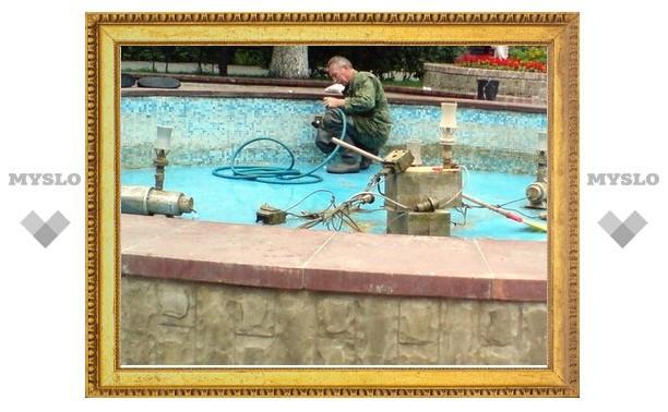В Туле на один фонтан потратят два миллиона рублей