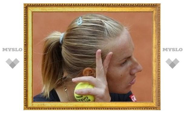Светлана Кузнецова проиграла канадской теннисистке
