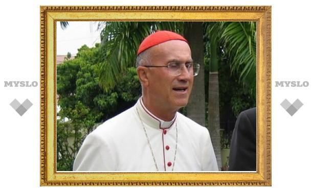 Кардинал Бертоне посетит Россию в 2011 году
