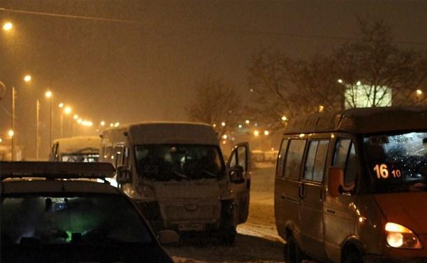Тульские водители маршруток нарушают правила дорожного движения