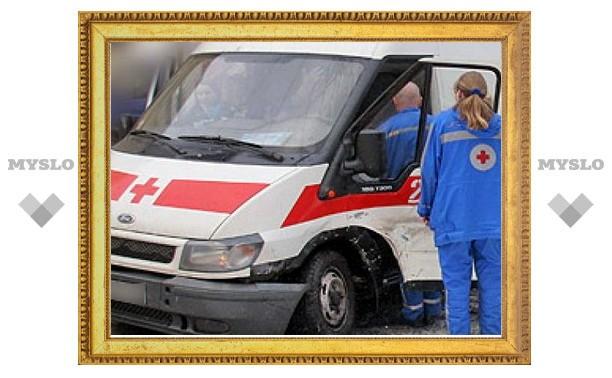 Тульская полиция выяснила, кто избил водителя кареты скорой помощи