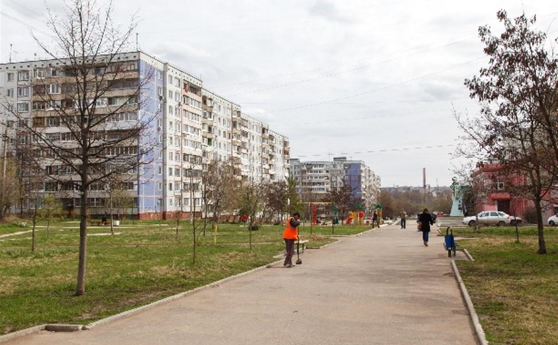 Молодежный бульвар в Зареченском округе Тулы благоустроят