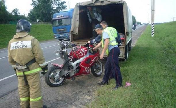 В ДТП в Чернском районе погиб мотоциклист