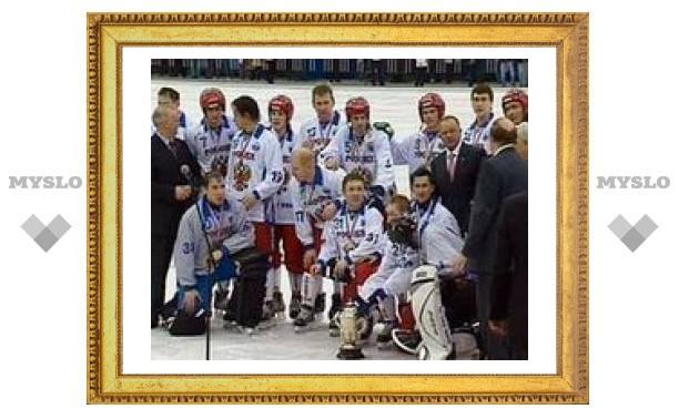 Россия выиграла ЧМ по русскому хоккею