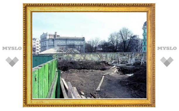 Фундамент первой каменной церкви Киевской Руси оказался под угрозой разрушения