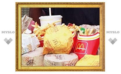 """Чизбургеры в тульском """"Макдоналдс"""" не соответствуют санитарным нормам"""