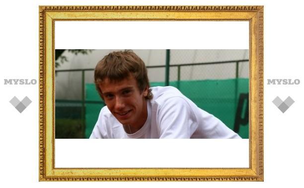 В Туле появился феноменальный теннисист