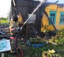 В Суворовском районе сгорел жилой дом