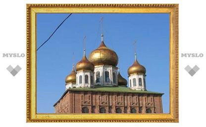 В Туле начали восстановление колокольни Успенского собора